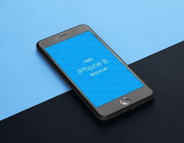 iPhone 8 - Free Mockup
