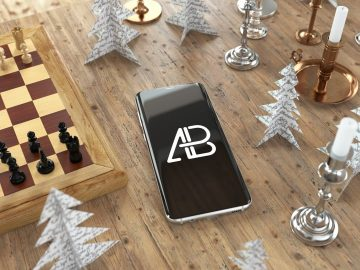 Samsung Galaxy S8 Plus - Free Mockup Vol.3