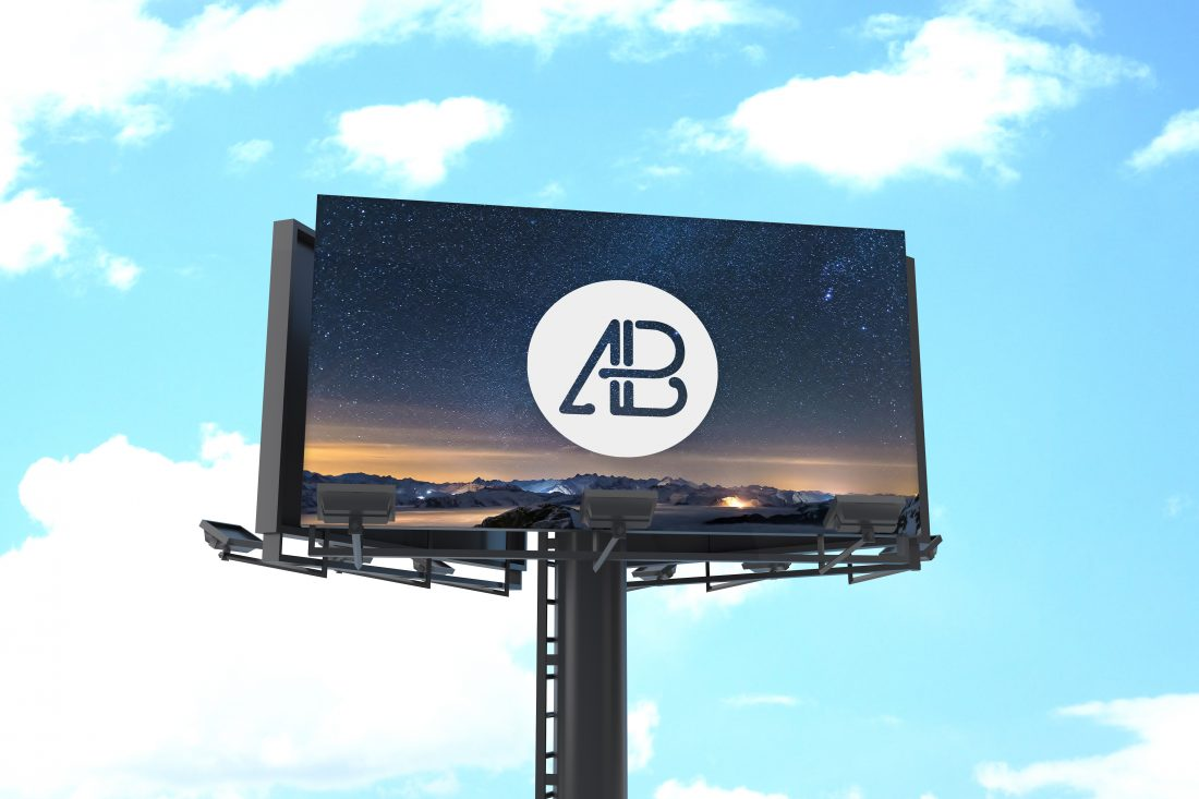 Free Billboard Mockup Vol.1