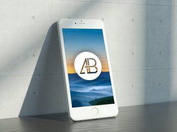 Realistic iPhone 6s - Free Mockup Vol.2