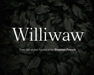 Williwaw Book Old Style - Free Font