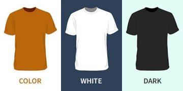 Free Blank T-Shirt Mockup