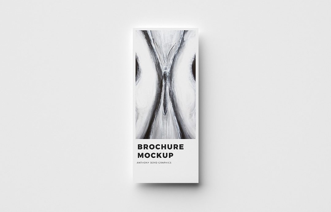Simple Modern Brochure Free Mockup