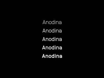 Anodina - Free Font Family
