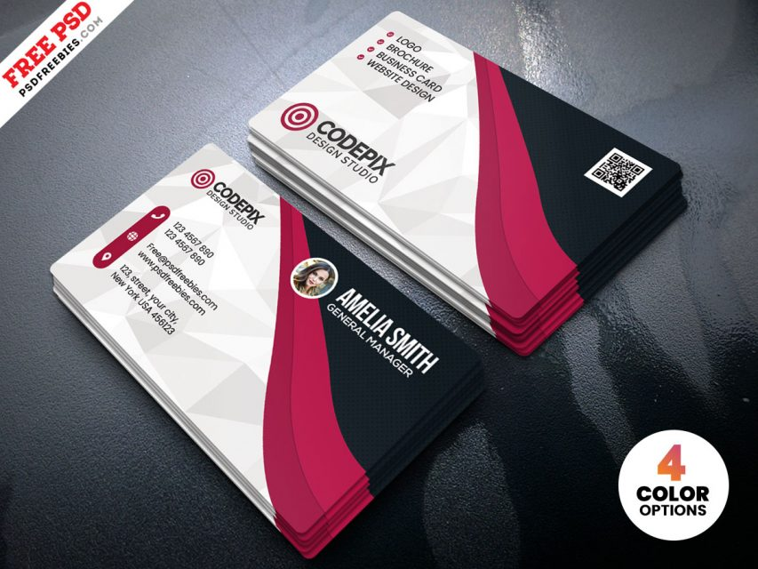 Free Multipurpose Business Card Template