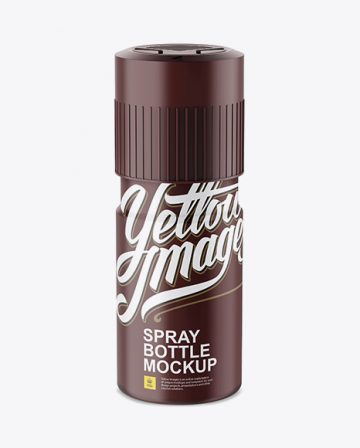 Free Matte Plastic Deodorant Mockup