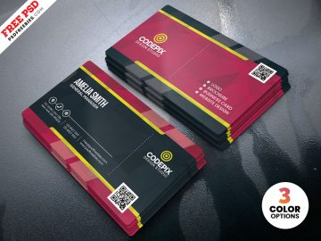 Print Ready Free Business Card Template