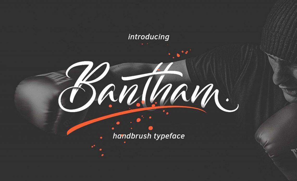 Bantham Hand Brush - Free Font