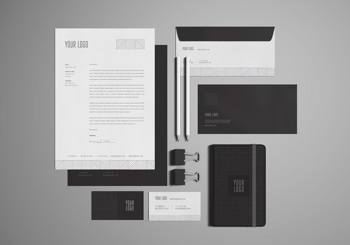 Free Stationery/Branding Mockup
