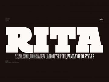 Rita - Free Font Family