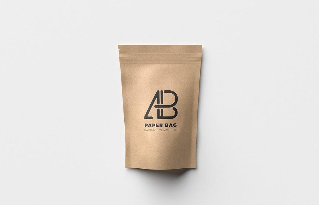Paper Bag Packaging Free Mockup