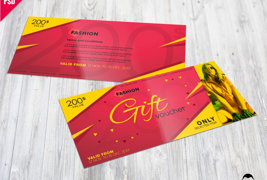 Fashion Gift Voucher Free