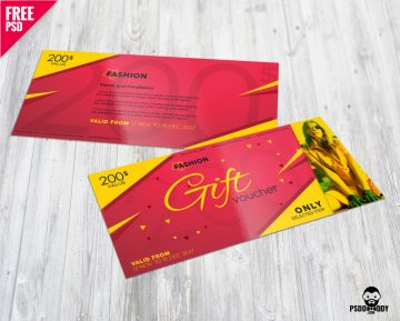 Free Fashion Gift Voucher