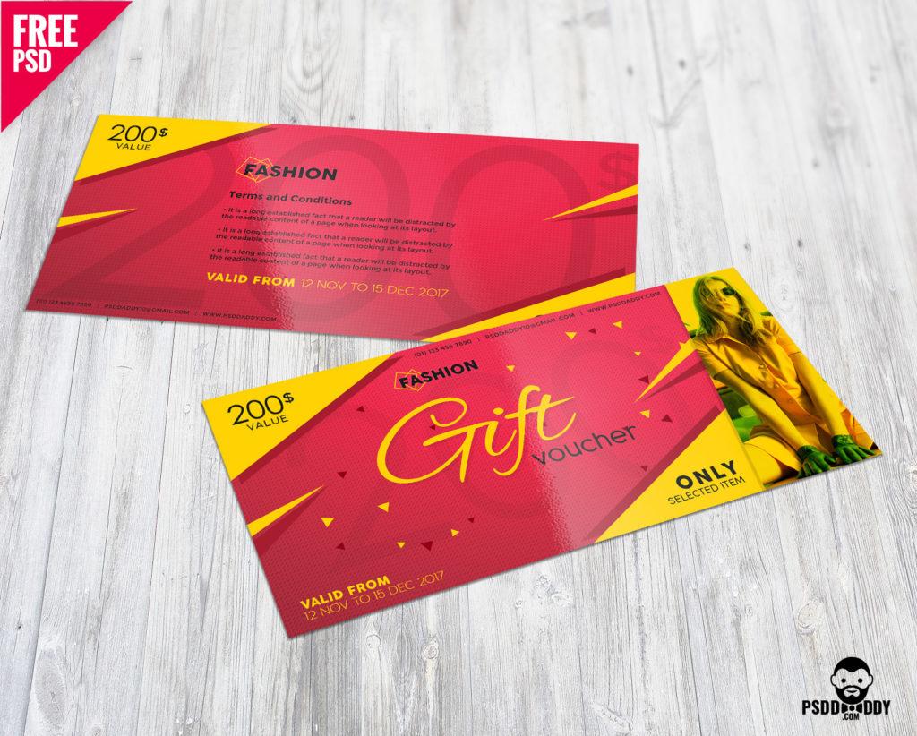 Free Fashion Gift Voucher