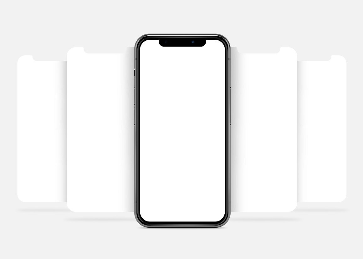 Free iPhone X Screen Mockup