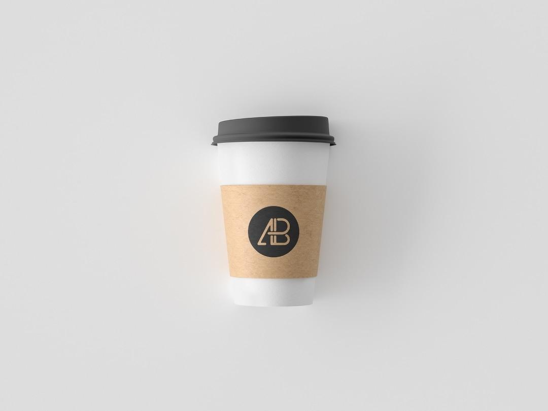 Simple Coffee Cup Free Mockup