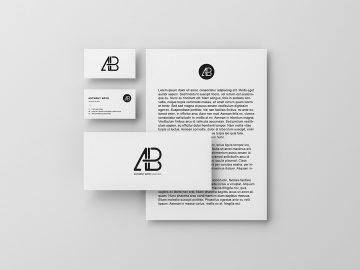 Modern Branding Identity - Free Mockup