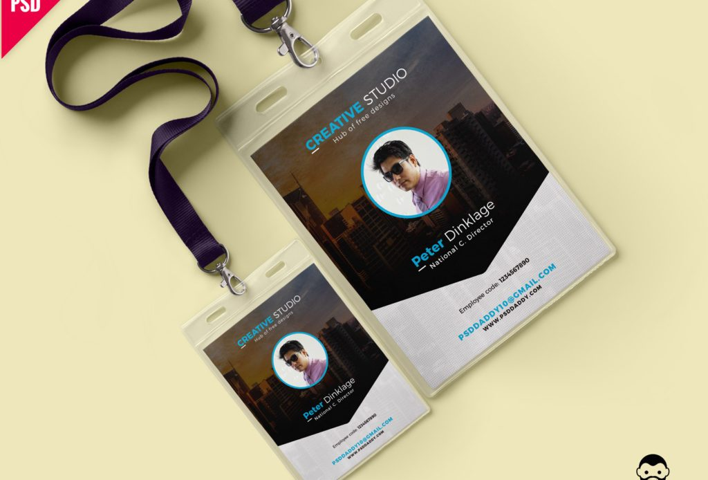 Free Office Identity Card