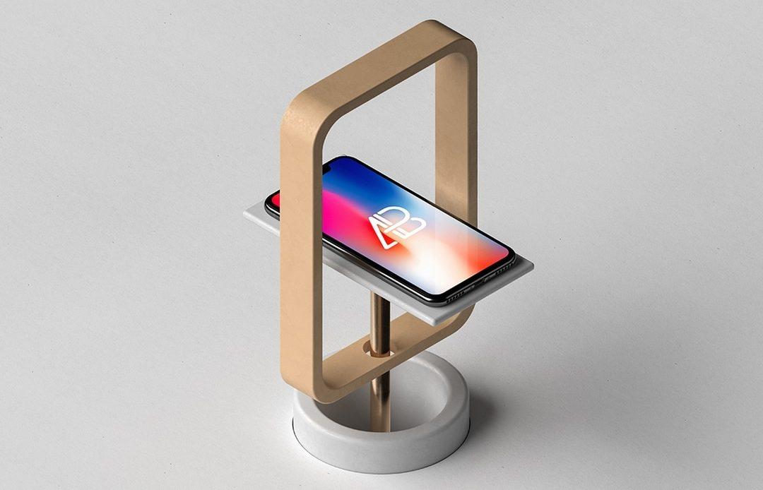 Modern iPhone X Free Mockup