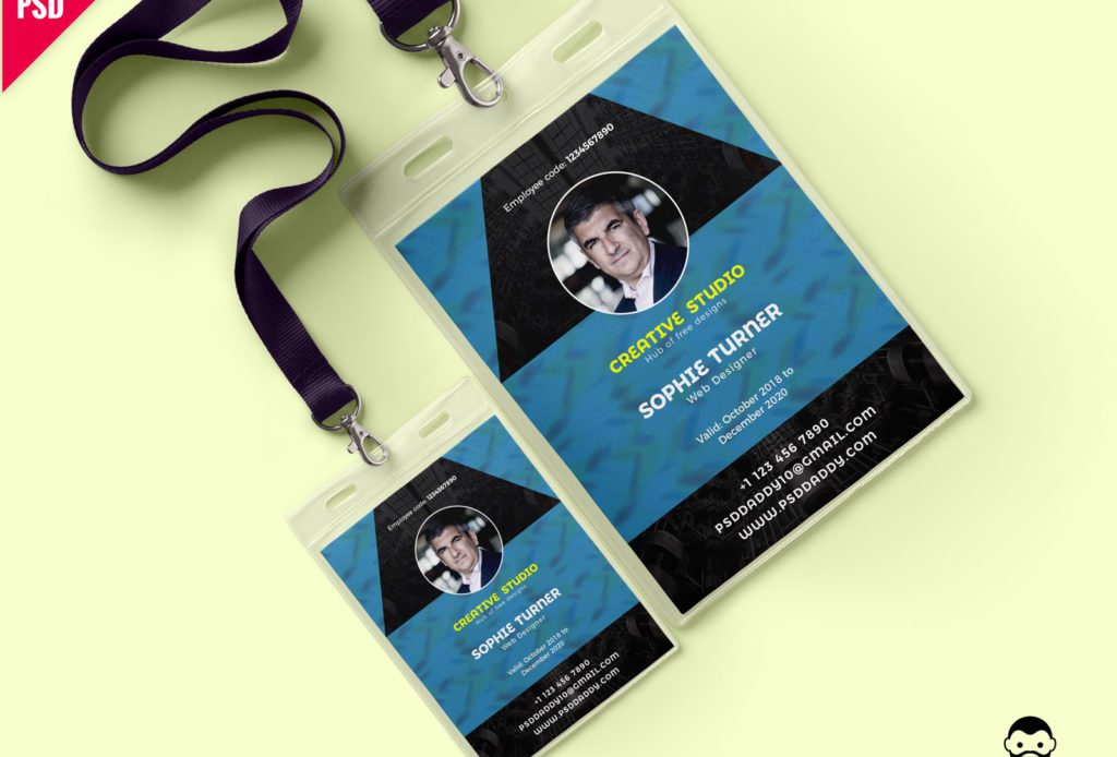 Free Creative Identity Card Design Template