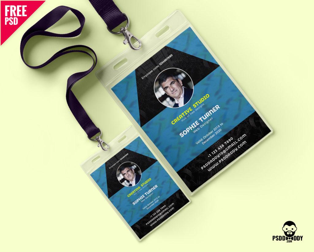 Free Creative Identity Card Design Template