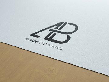 Free Natural Paper Logo Branding Mockup
