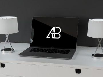 Modern Macbook Pro - Free Mockup