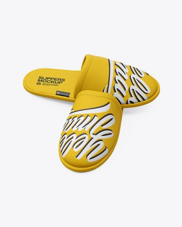 Slippers - Free Mockup