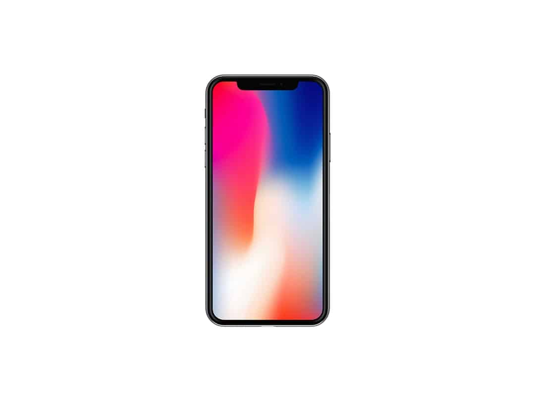Front View iPhone X Free Mockup