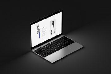 Free MacBook Air Mockup