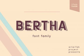 Bertha Free Font Family