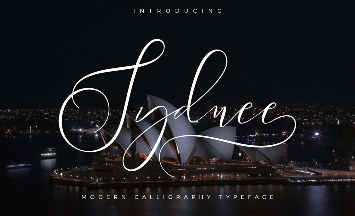 Sydnee Calligraphy Free Font