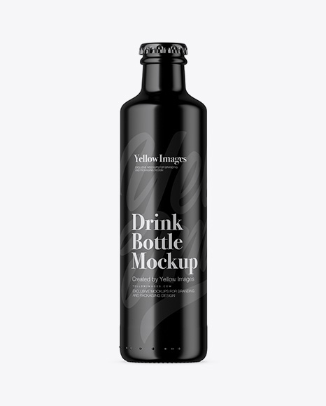 Free 250ml Glossy Bottle Mockup