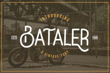 Bataler Vintage Free Font