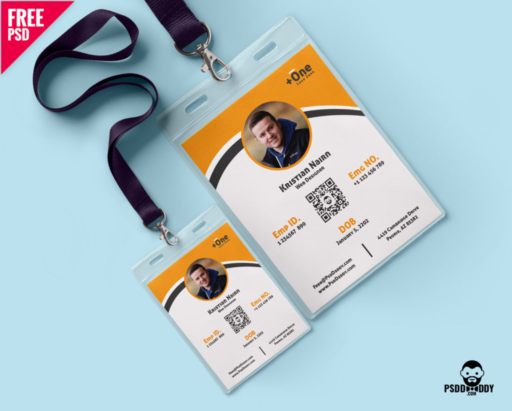 Free Multipurpose Photo Identity Card Template