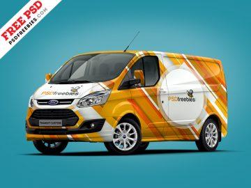 Ford Van - Free Mockup Template