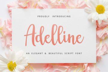 Adelline Script - Free Font