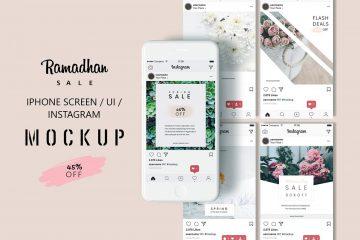 Free iPhone Screen Mockup