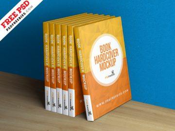 Book Hardcover - Free Mockup