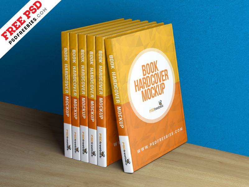 Book Hardcover Free Mockup