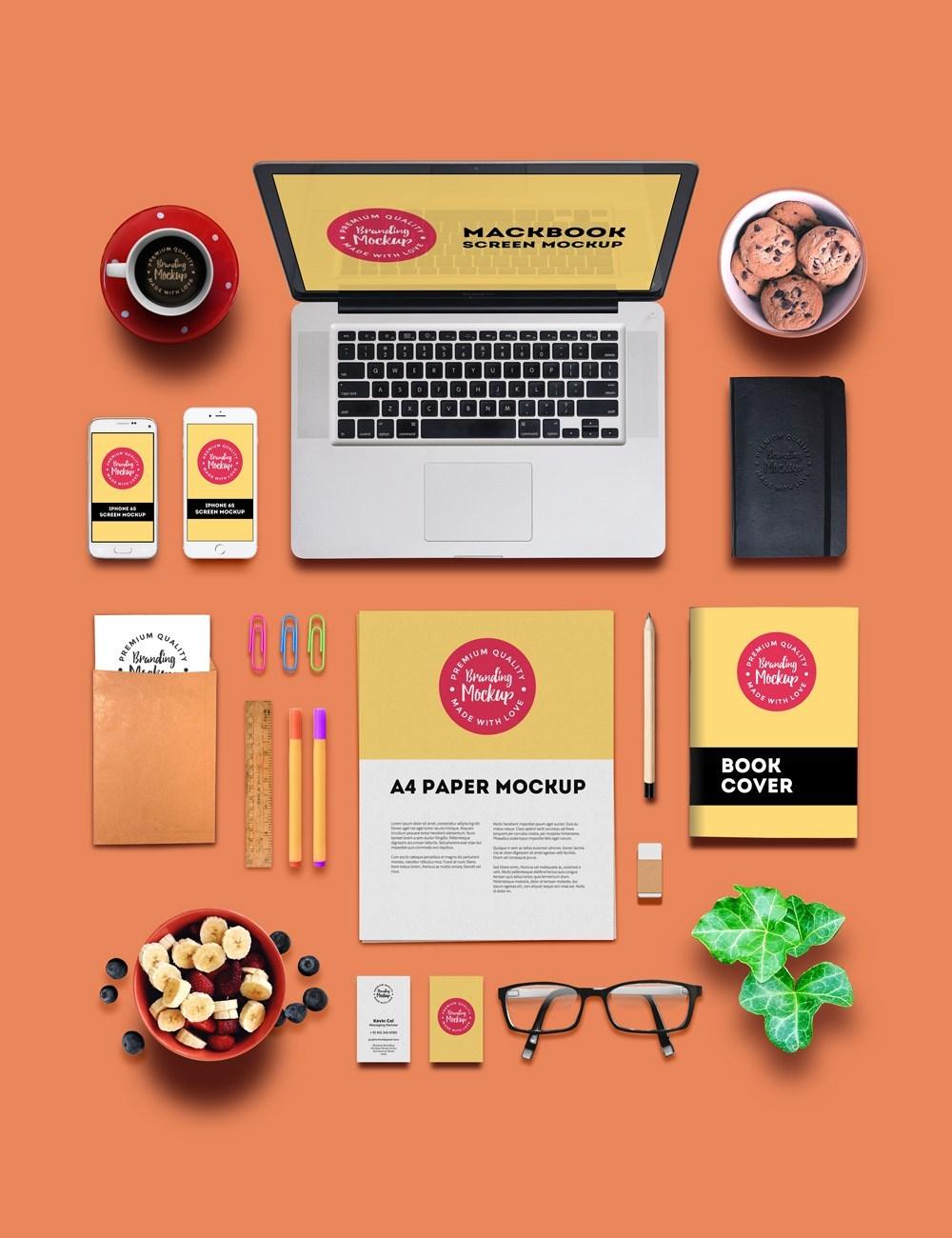 Free Branding and Identity Mockup