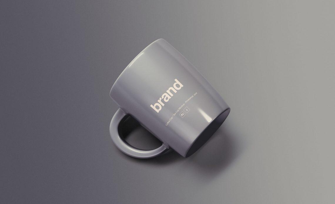 Free Simple Mug Mockup