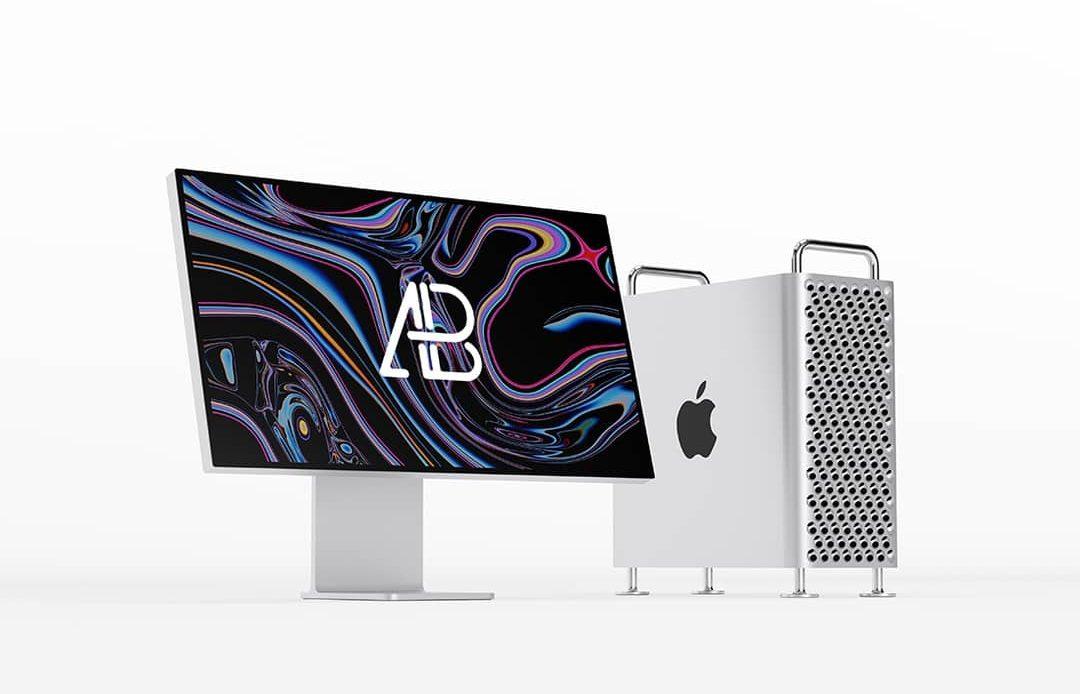 Free Mac Pro 2019 Mockup
