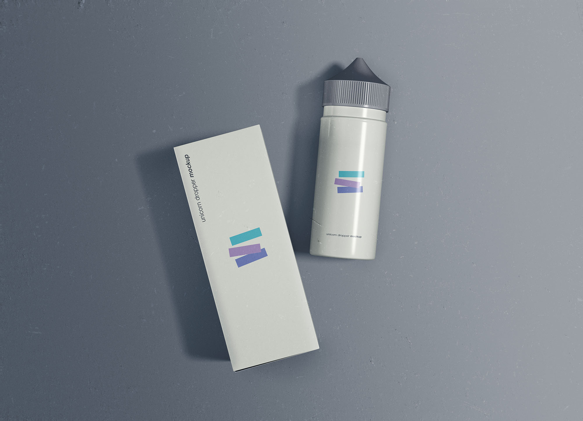 Free Unicorn Dropper Mockup