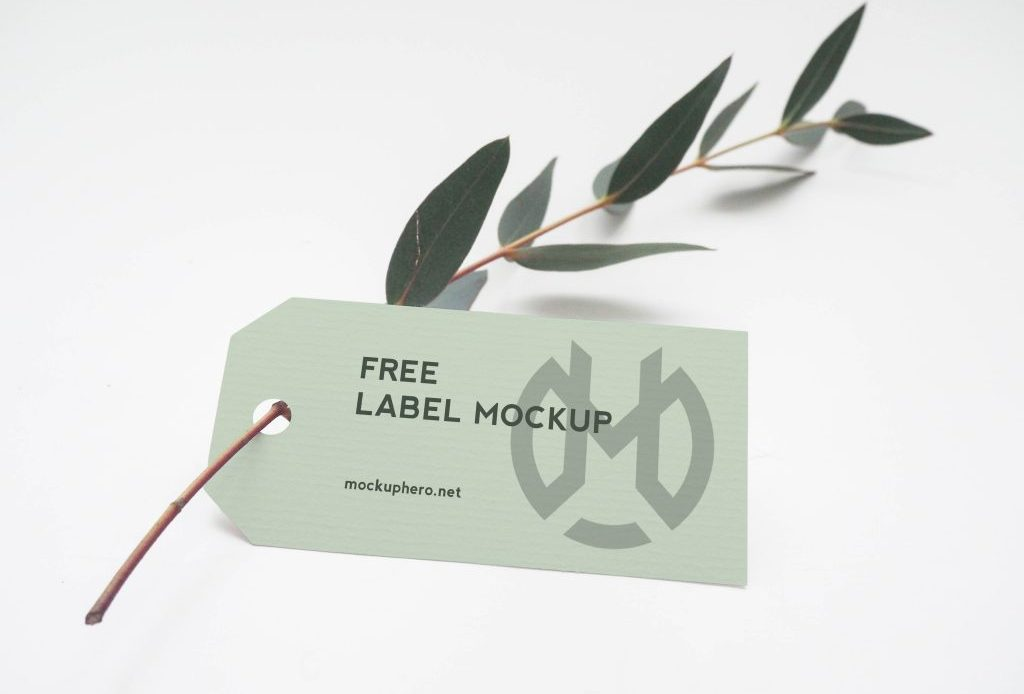 Free Label Mockup
