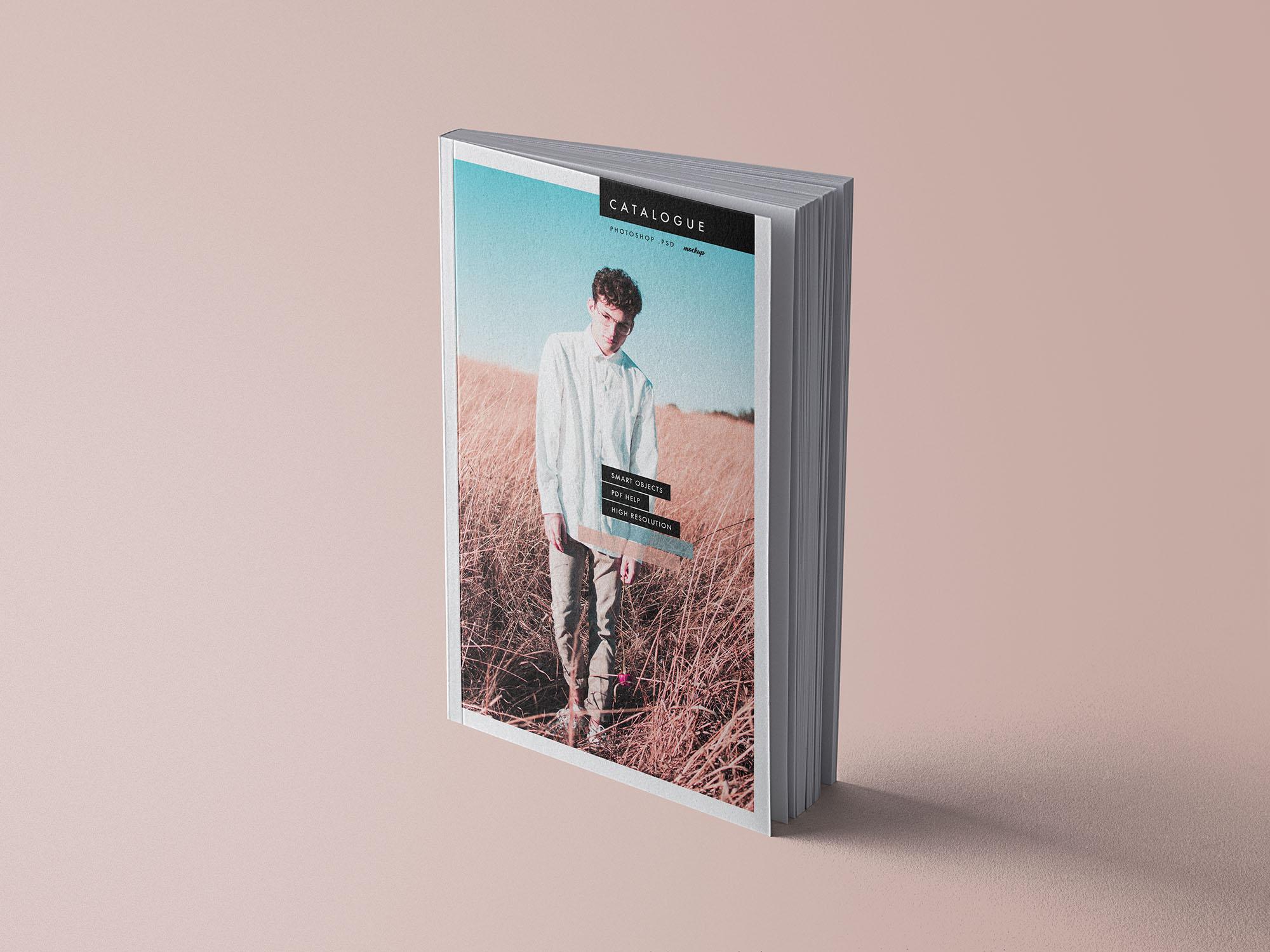 Free Catalogue Book Mockup