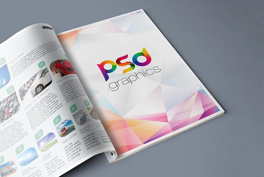 Free Magazine Advertisement Mockup