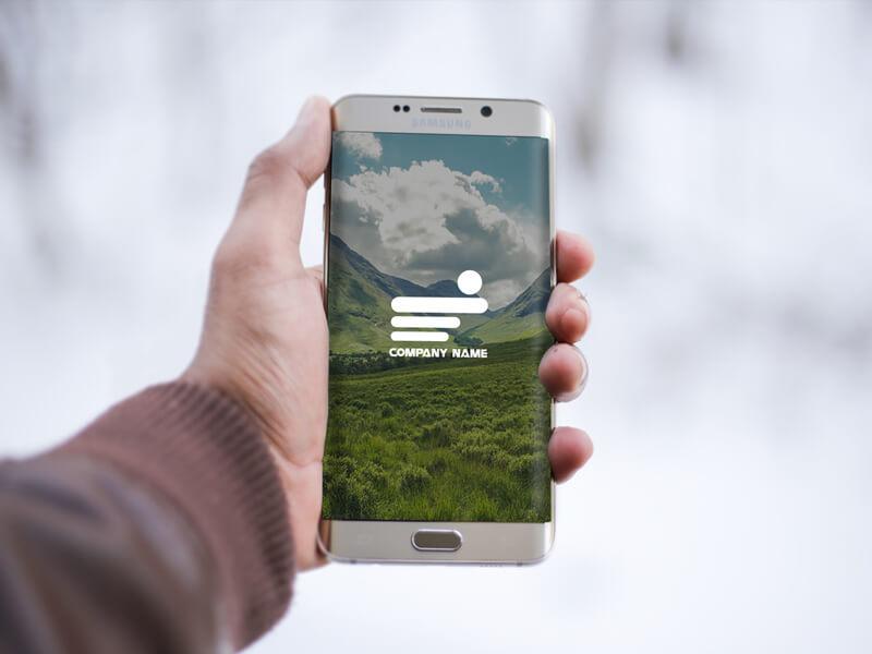 Free Samsung Phone Mockup