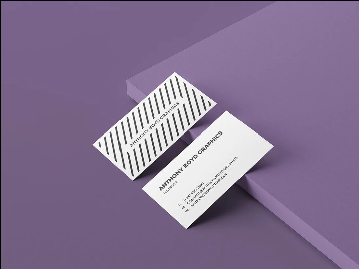 Free Business Card Mockup Vol.2
