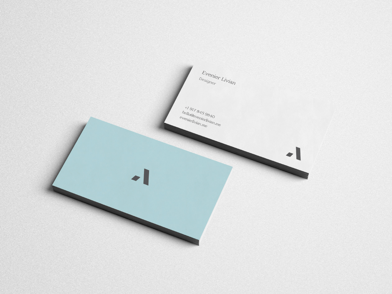 Free Digital Designer Business Card Template
